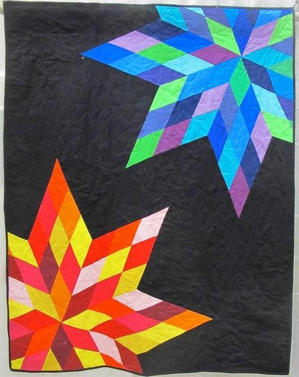 Sunrise Sunset by Katherine Dithmer, League City. TX. Pieced and quilted by Christina Powell.