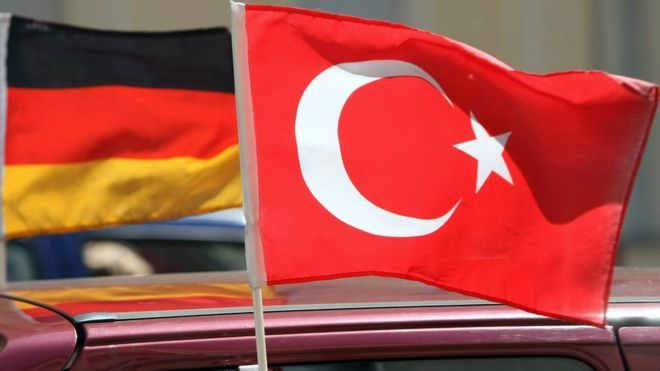 Turkey withdrew its list of 'German companies' suspected of supporting terrorism