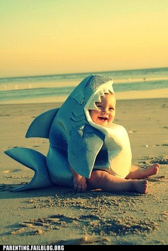 The beaches just aren't safe anymore...cute maybe, but not safe...