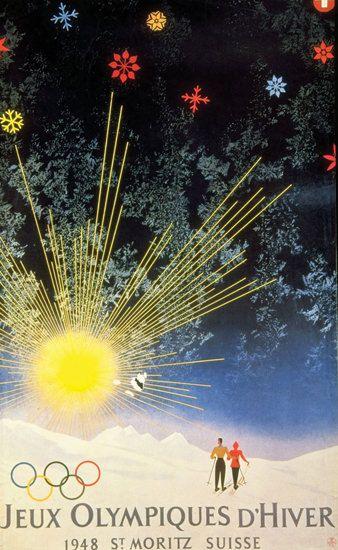 Jeux Olympiques D Hiver St Moritz Suisse 1948