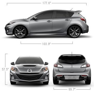 2013 Mazdaspeed 3 Compact Sports Car Specs & Features | Mazda USA