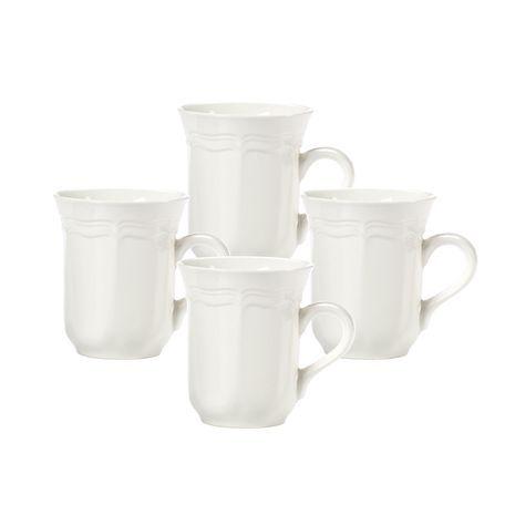 French Countryside Mugs, Set of 4