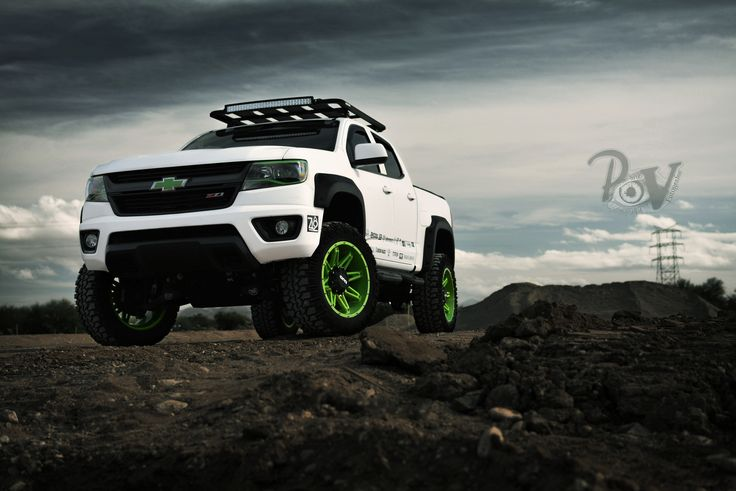 "chevy colorado bed rack | EGR 2"" Fender Flares (2015-2016 Colorado) - Chevy Colorado & GMC ..."