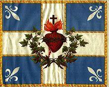 ancien drapeau du Québec — Wikipédia