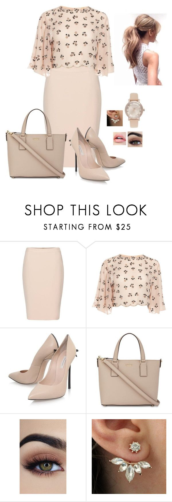 """N/A # 902"" by terra-wendy ❤ liked on Polyvore featuring Casadei, Kate Spade and Michael Kors"