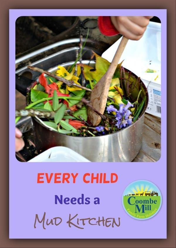 Every Child Needs a Mud Kitchen by @CoombeMill