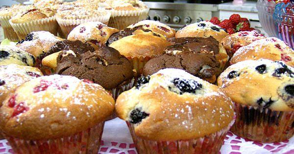 Leilas blåbärsmuffins | Recept från Köket.se