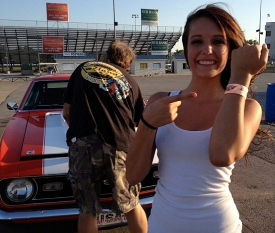 16 Year-Old Girl Owns 11-Second Camaro: She has a better sense of humor than Danica Patrick