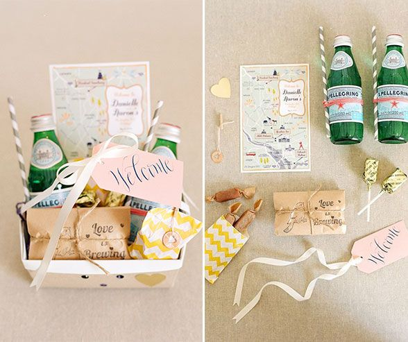 Filled With Big Day Must Haves Personalized Details And A Hint Of Whats To Come These Gifts Are Style Fun Get Your Guests Excited From