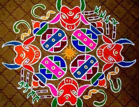 Top 10 South Indian Rangoli Designs