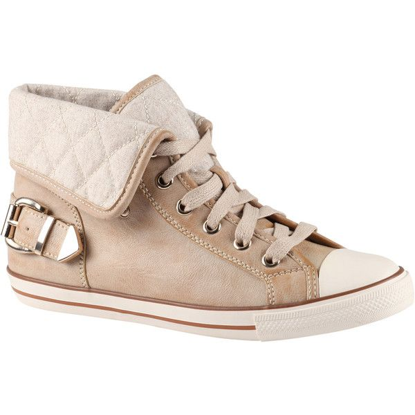 ALDO Conde sneakers (55 BRL) ❤ liked on Polyvore featuring shoes, sneakers, beige, aldo, lace up sneakers, aldo shoes, rubber sneakers and foldable shoes