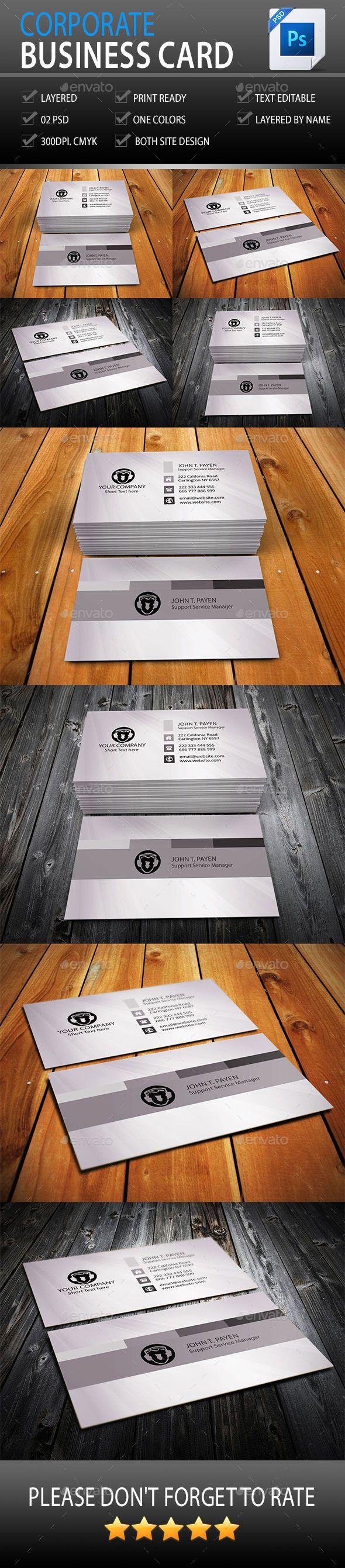 Corporate Business Card Vol: 04