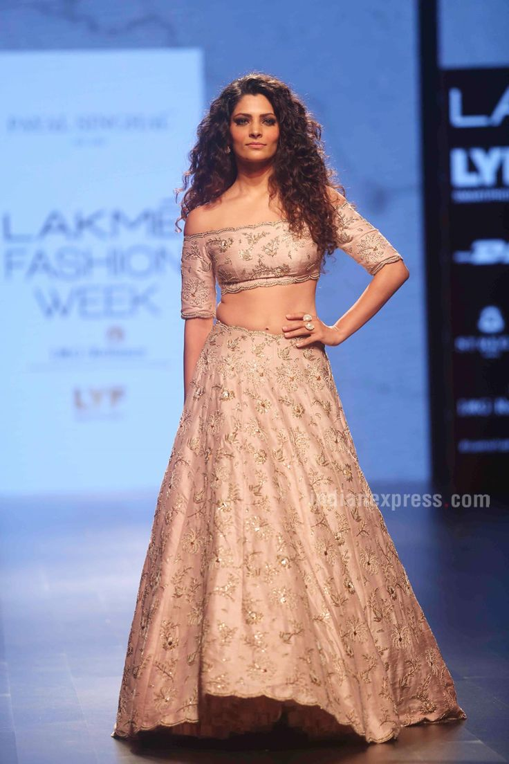 Saiyami Kher walking on the ramp for Payal Singhal at the Lakme Fashion Winter Festive 2016. #Bollywood #Fashion #Style #Beauty #Hot #Sexy