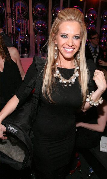 "Dina Manzo - Bravo's 2011 ""Watch What Happens Live: Andy's New Year's Party"""