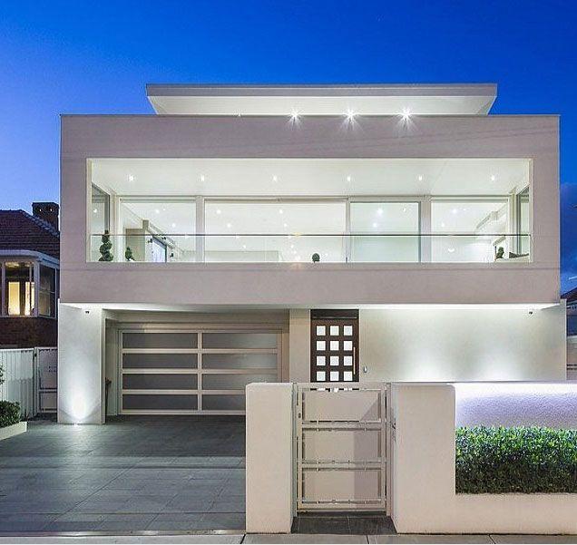 facada de casa moderna