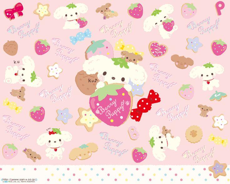 kawaii strawberry wallpaper vintage - photo #41