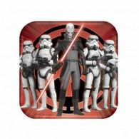 Star Wars Rebels Square Luncheon Plates Pkt8 $7.95 A541841