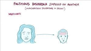factitious disorder imposed on another...