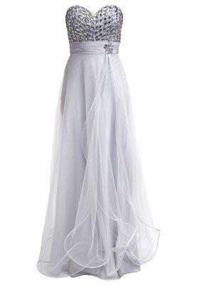 Suknia balowa - silbergrau