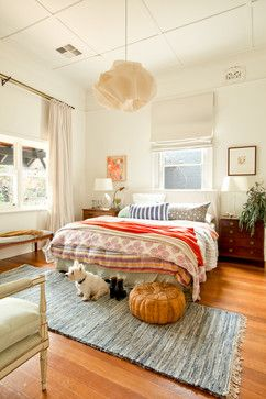 100 Year old house becomes a family home in Australia eclectic-bedroom