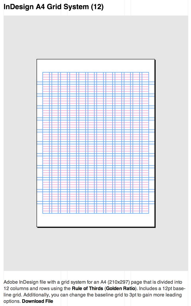 11 best GRIDS images on Pinterest | Grid system, Book layouts and ...