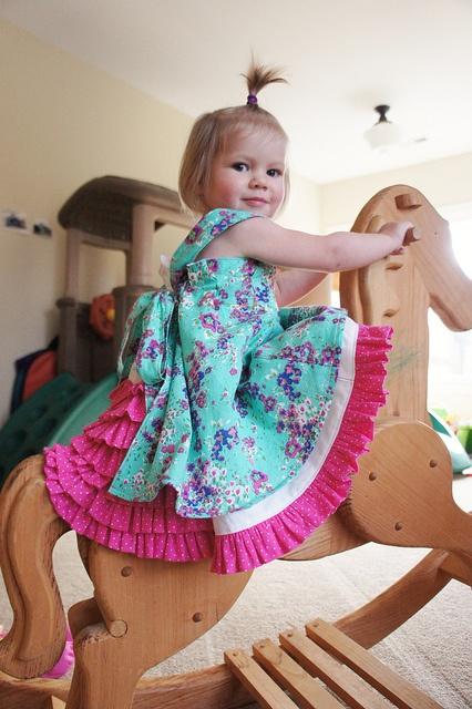 Easter Dress - a Farbenmix Feliz by thread culture, via Flickr