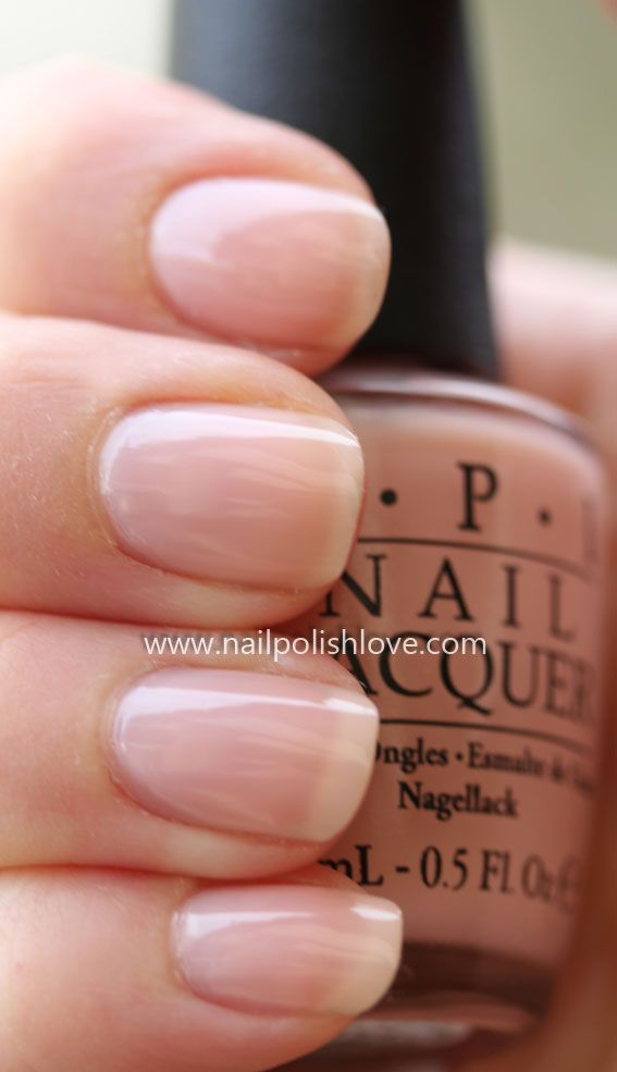 OPI – You Callin' Me A Lyre?....I wish I could paint sheer polish like this