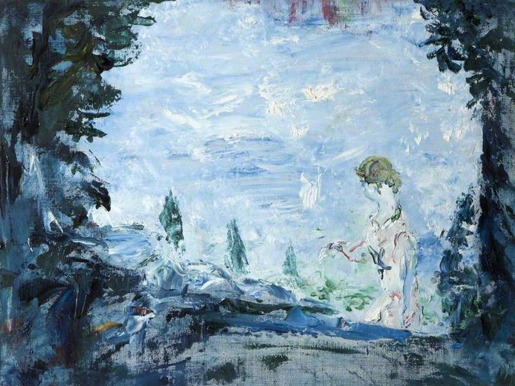 Water on Its Way by Jack B Yeats Ulster Museum