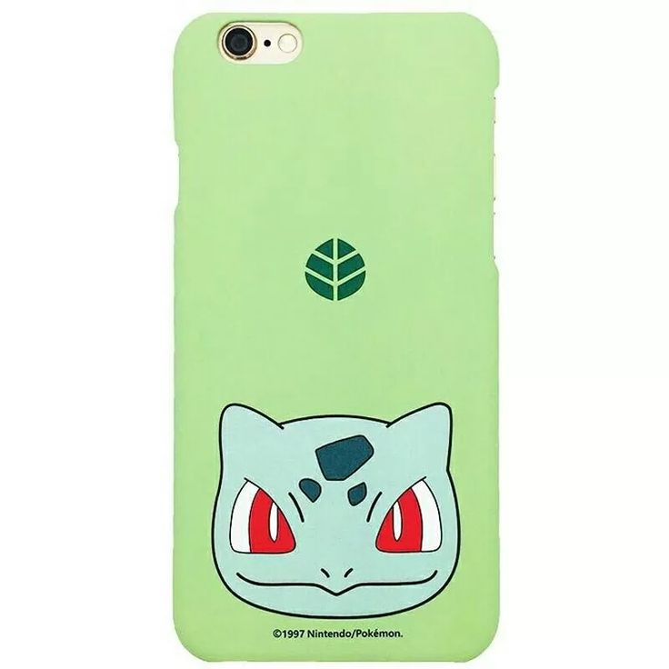 capinha capa case iphone 6 6s pokemon bulbasaur