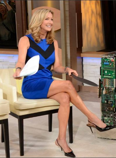Lara Spencer of ABC's Good Morning America show