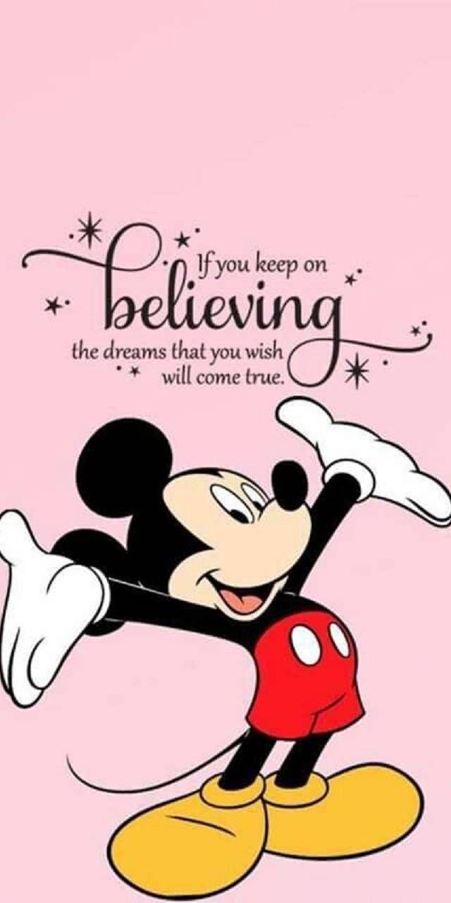 Disney Mickey Mouse And Dream Walt Disney Quotes Mickey Mouse Quotes Quotes Disney