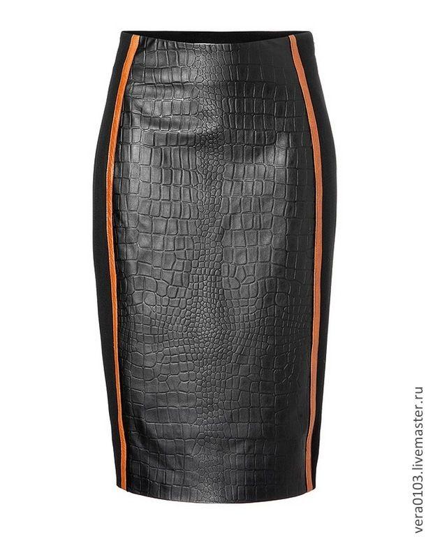 Кожаная юбка Выбор - юбка,кожа натуральная,кожа натуральная