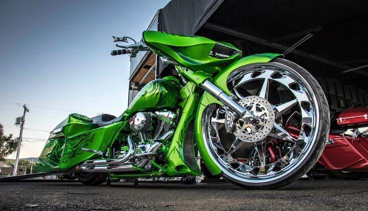 Green Machine! VooDoo Bikeworks! #voodoobikeworks #raypublishing #getafterit