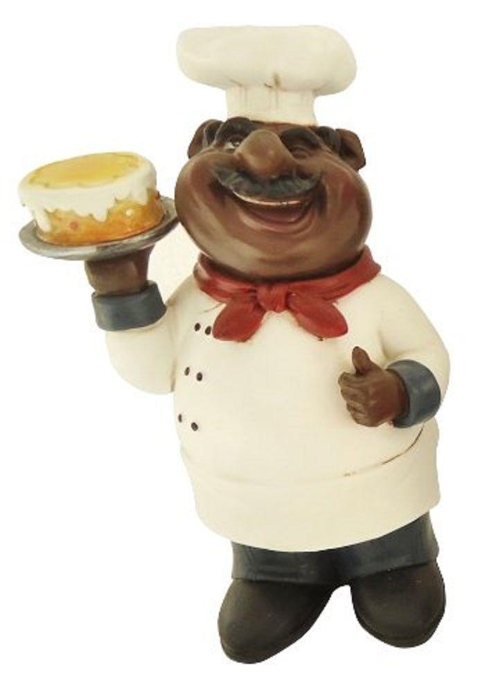 Fat black chef