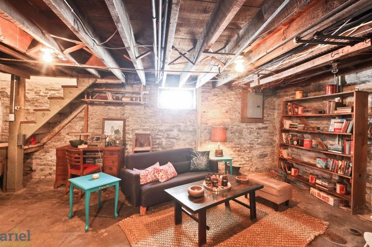 Using A Basement Without Sheetrocking Walls Excellent Idea For Teen Space Wi
