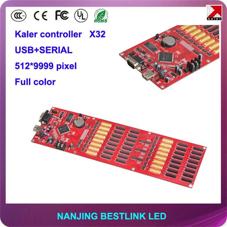 512*9999 PIXEL kaler LED controller card X32 full color led control card for p6 p8 p10 p12 p16 p20 led advertising led wall #Affiliate