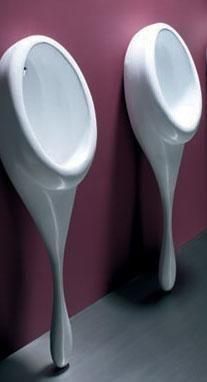 modern urinal