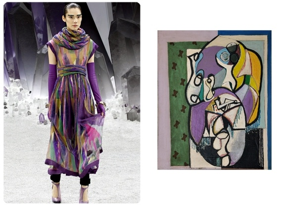 Canvasses On The Catwalk: Chanel