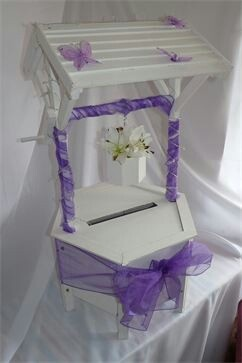 Wishing well to hire for weddings from wwwrosiecartscouk  Wedding  Wedding decorations