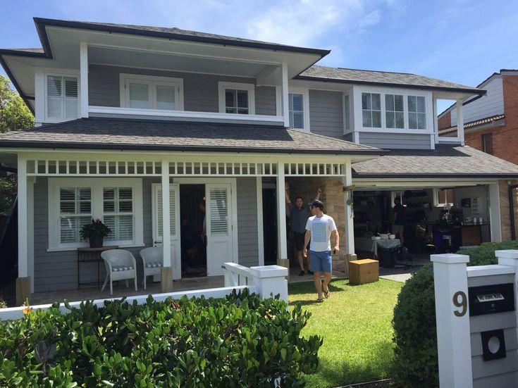 Renovated Californian bungalow in Sydney Australia.