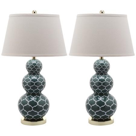 Casper Table Lamp in Marine Blue