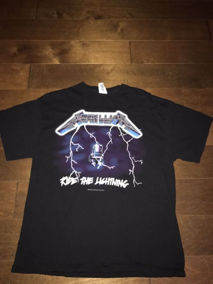 NWOT VTG 2007 Metallica T Shirt Size L Double Sided Rock Ride The Lightning 90s #Delta #GraphicTee