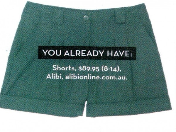 Black Shorts by Alibi at AlibiOnline. As seen in Feb issue.