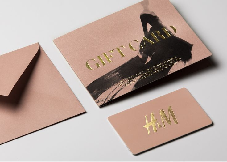 Hu0026M Gift Cards By The Studio, Sweden. #print #design