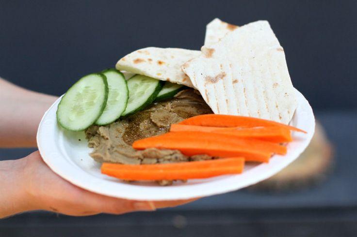 За еду: вегетарианские блюда от Vegano Hooligano | Хумус