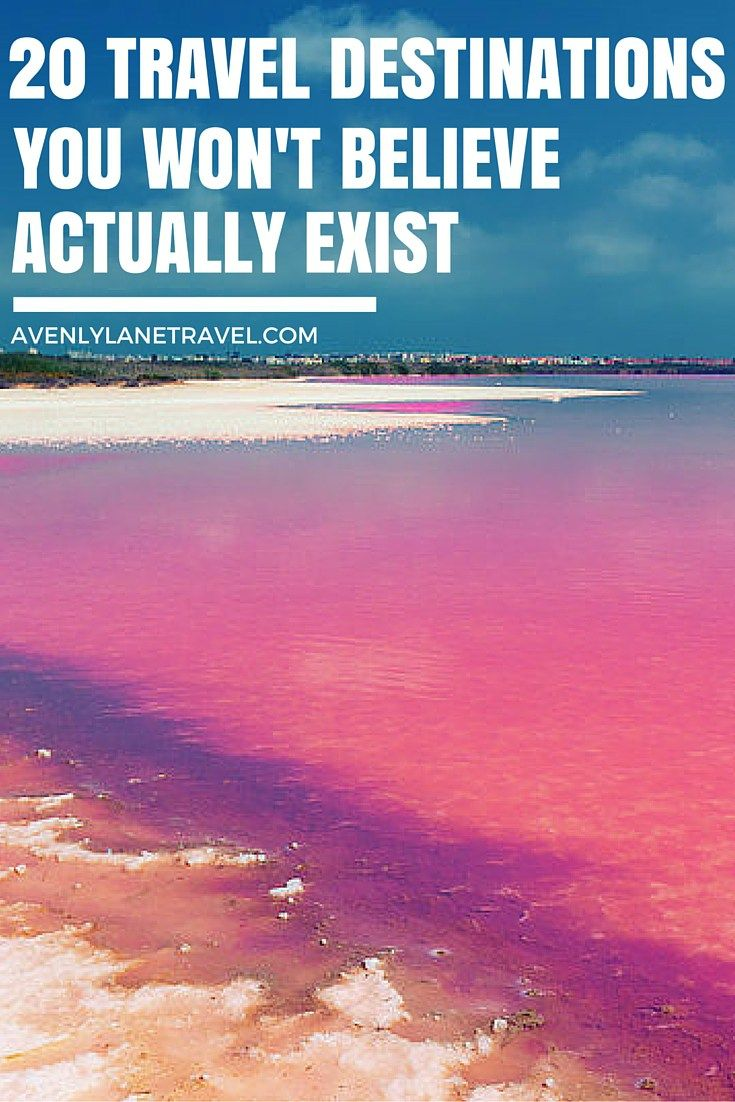 Laguna Salada de Torrevieja, Spain. 20 UNREAL Travel Destinations you have to see!! Click through to read the full post!