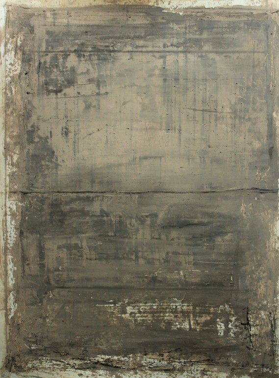 "Saatchi Online Artist: CHRISTIAN HETZEL; Mixed Media, 2013, Painting ""grey brown painting"""