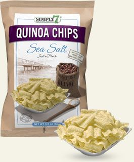 Quinoa Chips – Sea Salt   Simply 7 Snacks
