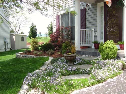 Top  Best Small Front Yards Ideas On Pinterest Small Front - Landscaping ideas for small front yard in front of house