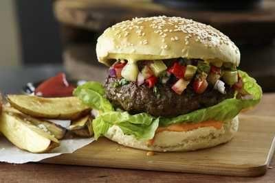 Lag din egen burger (med f.eks. høyrygg)